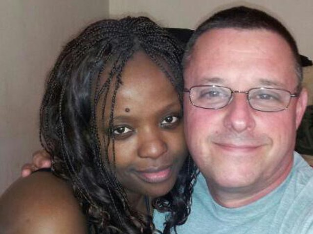 african woman with white man